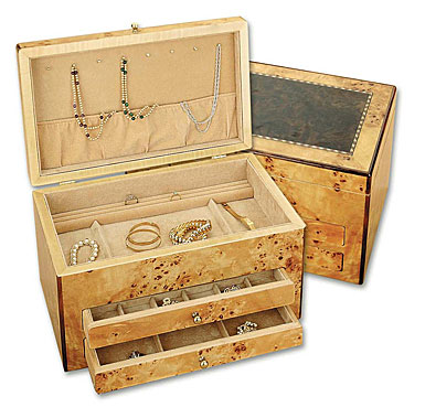 Reed and Barton Selene Jewelry Chest, Bird