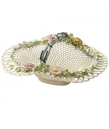 Belleek China Henshall Basket 1887 - 1897, Limited Edition of 125