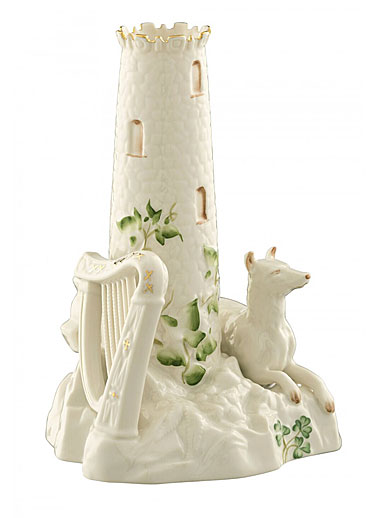 Belleek China Round Tower Centrepiece 1897 - 1907, Limited Edition of of 495