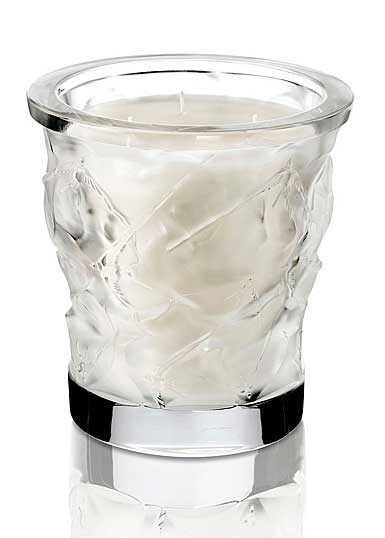 Lalique Perfume Vase Swallow Candle Extract