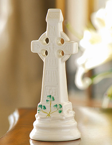 Belleek China Celtic High Cross