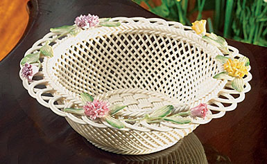 Belleek Celebration Basket
