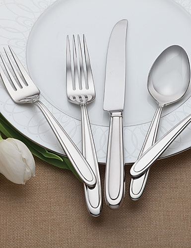 Waterford Ballet Icing Flatware, 5-Piece Place Setting
