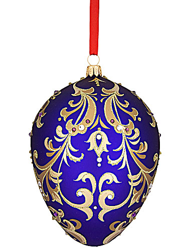 Reed and Barton Ornament, Majestic Egg, 2012