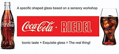 Coca-Cola and Riedel