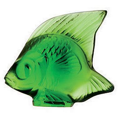 Lalique Green Meadow Fish