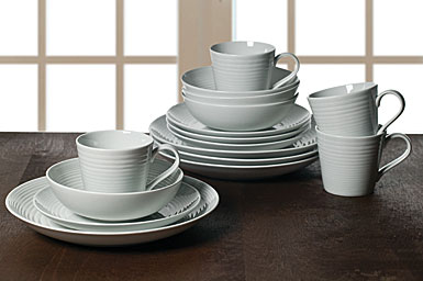Royal Doulton China Gordon Ramsay Maze Grey 16-Piece Set
