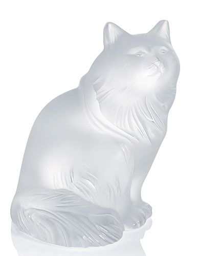 Lalique Heggie Cat