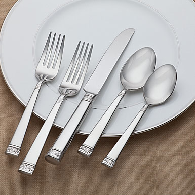 Waterford Flatware Lismore Nouveau 5 pc Place Setting