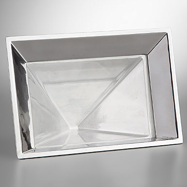 Nambe Pyramid Frame, 6 X 4in