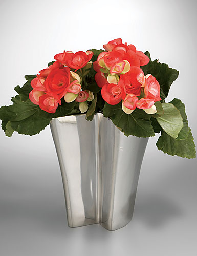 Nambe Metal Ribbon Vase, 8
