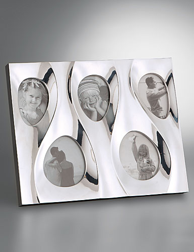 Nambe Metal Dune Multi Photo Frame