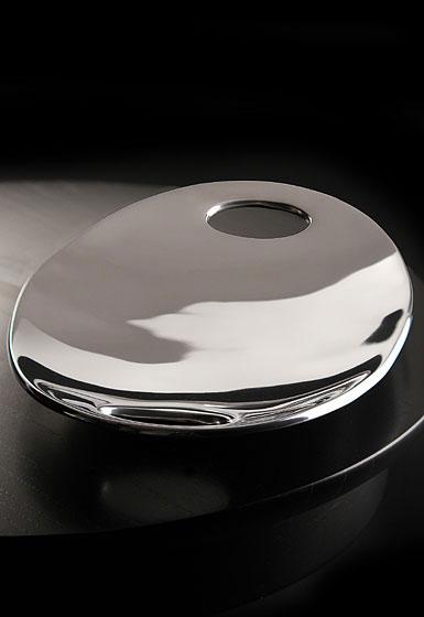 "Nambe Metal Pebble Handled 14"" Tray"