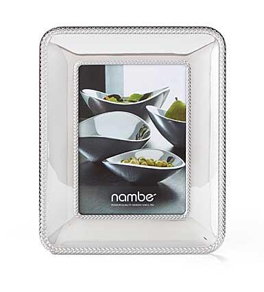 """Nambe Metal Braid 5x7"""" Picture Frame"""