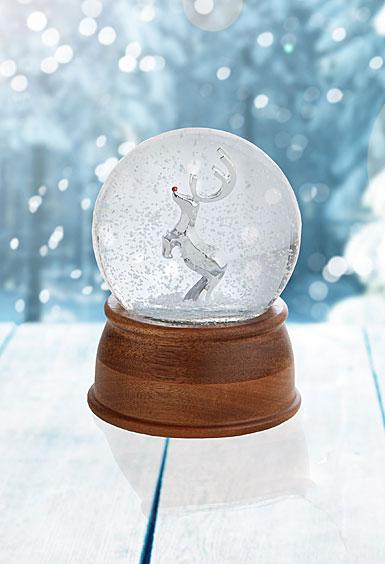 Nambe 2017 Reindeer Snow Globe