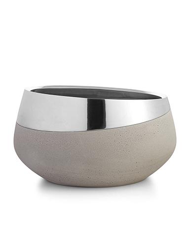 """Nambe Metal Forte 10"""" Bowl"""