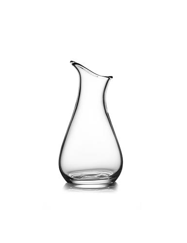 Nambe Moderne Medium Art Vase, Clear
