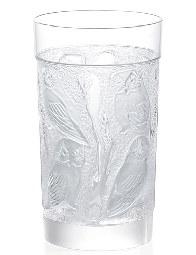 Lalique Owl Hiball Tumbler, Single
