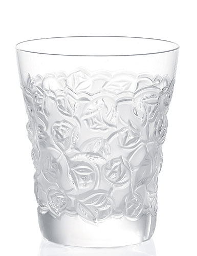Lalique Roses Tumbler, Single