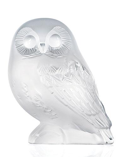 Lalique Shivers Owl