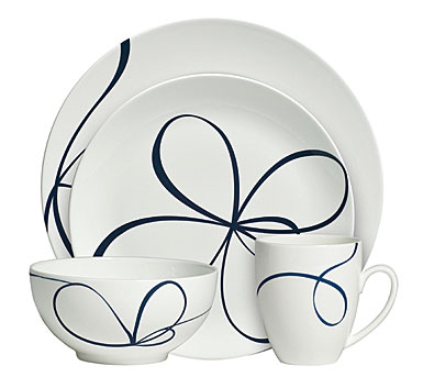 Vera Wang Glisse 4-Piece Place Setting