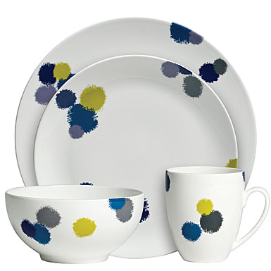 Vera Wang Ikat 4-Piece Place Setting