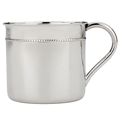 Reed & Barton Sterling Beaded Baby Cup