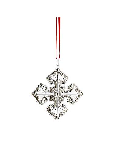Reed and Barton Sterling Silver Christmas Cross 2013, 43rd Edition, H. 3 1/8in.