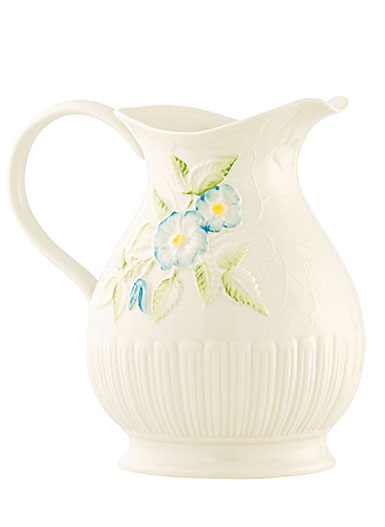 Belleek Italian Garden Pitcher