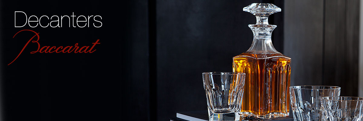 Baccarat Decanters Collection Crystal Classics