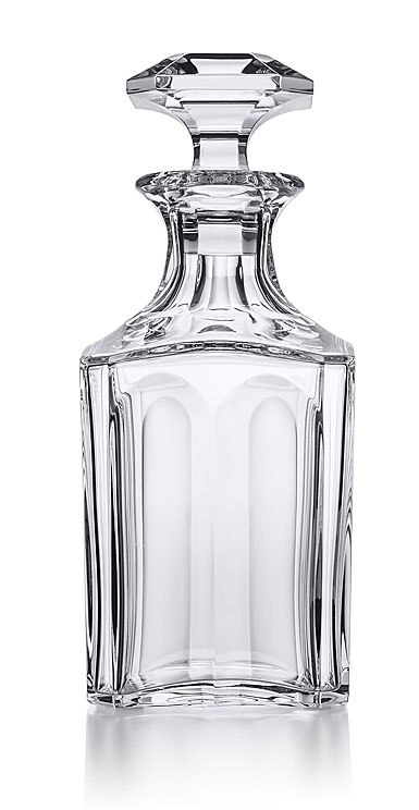 baccarat harcourt square whiskey decanter. Black Bedroom Furniture Sets. Home Design Ideas