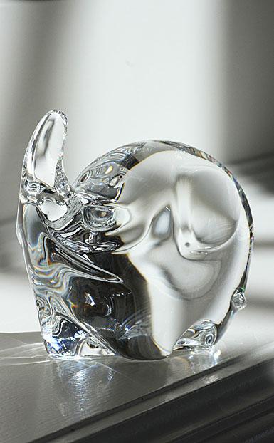Baccarat Minimals Figurines, Little Elephant