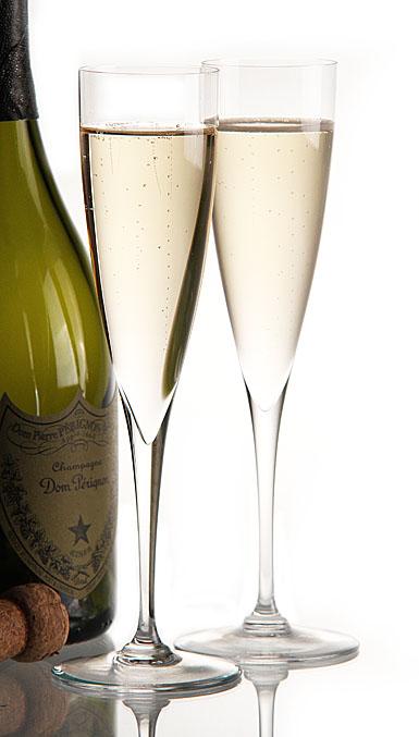 Baccarat Dom Perignon Champagne Flute, Pair