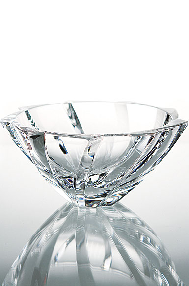 Baccarat Objectif Small Bowl 3 5/8in H X 8 1/8in Dia.
