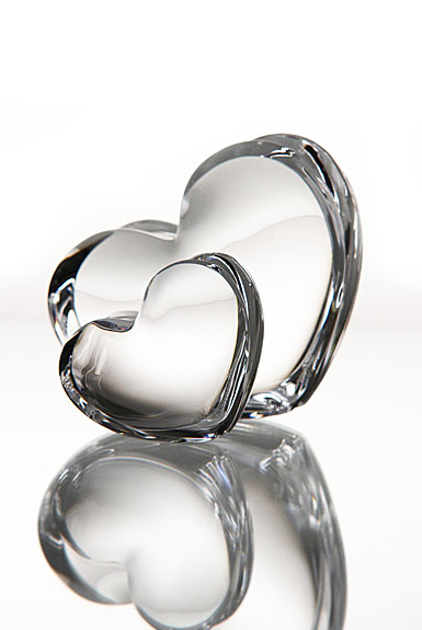 Baccarat Zinzin Hearts Clear Large