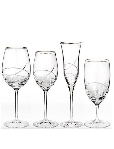 Waterford Ballet Ribbon Essence Platinum Red Wine/Goblet