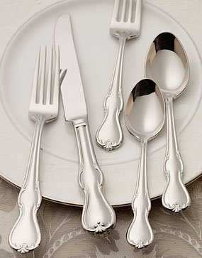 Waterford Baron's Court Flatware, 5-Piece Place Setting