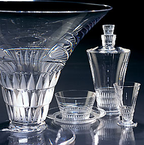 Lalique Bourgueil Water Glass N 2 5""