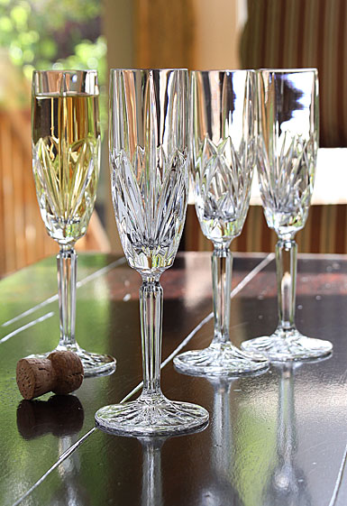 Marquis By Waterford Brookside Flutes Set of Four