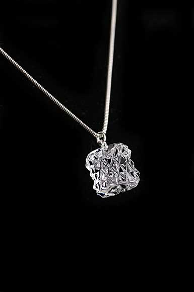 Cashs Crystal Kerry Bead Pendant Necklace, Sterling Silver Snake Chain, Small
