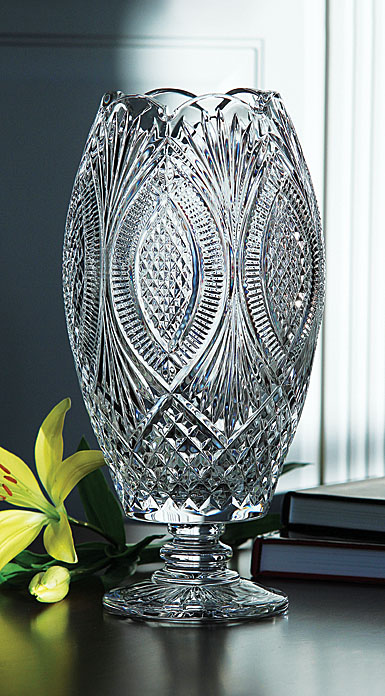 Cashs Crystal Art Collection, Cara Limited Edition Vase