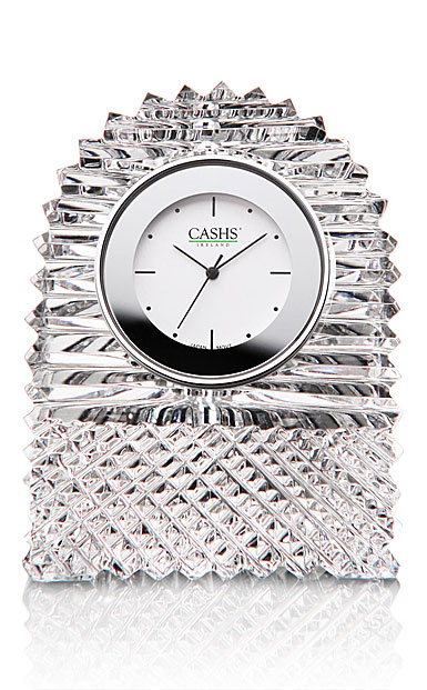 Cashs Crystal Georgian Dome Clock