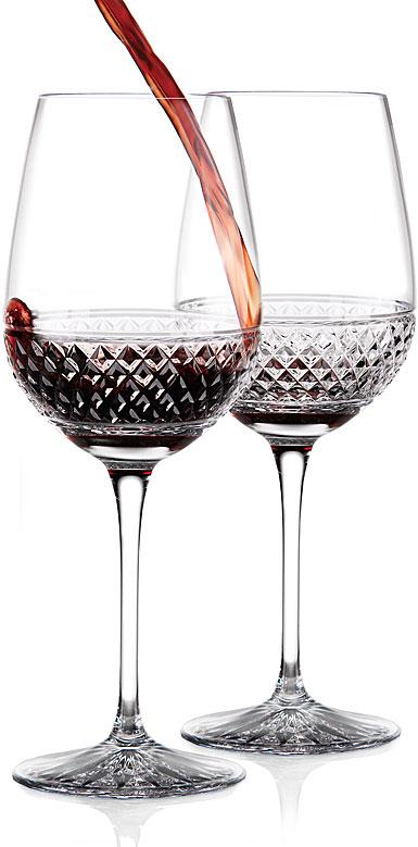 Cashs Cooper Cabernet, Merlot, Red Wine Glasses, Pair