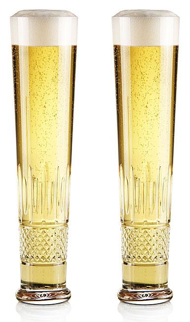 Cashs Crystal Cooper Lager Beer Glasses, 1+1 Free