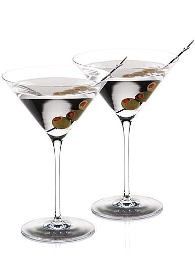 Cashs Crystal Grand Cru American Martini, Pair