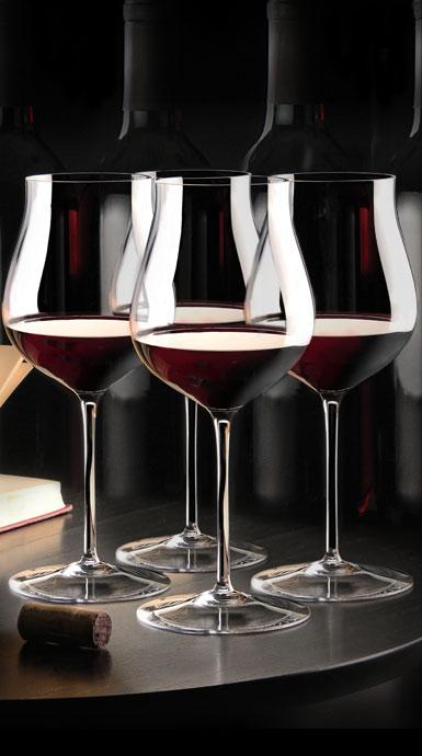 Cashs Crystal Grand Cru Pinot Noir Glasses, Set of 4