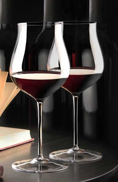 Cashs Crystal Grand Cru Pinot Noir Glasses, Pair
