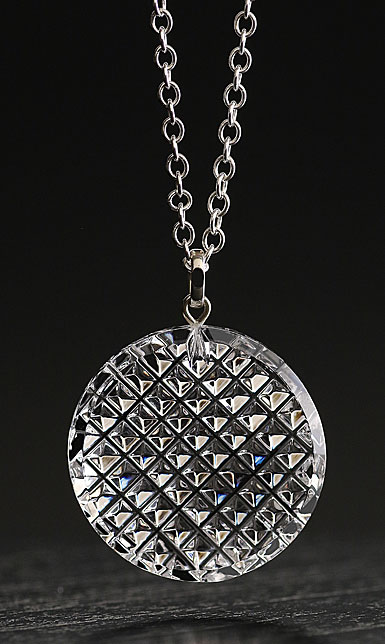 Cashs Crystal Kerry Pendant Necklace, Large