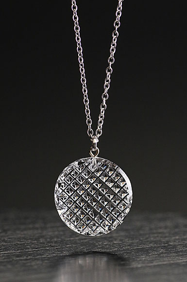 Cashs Crystal Kerry Pendant Necklace, Medium