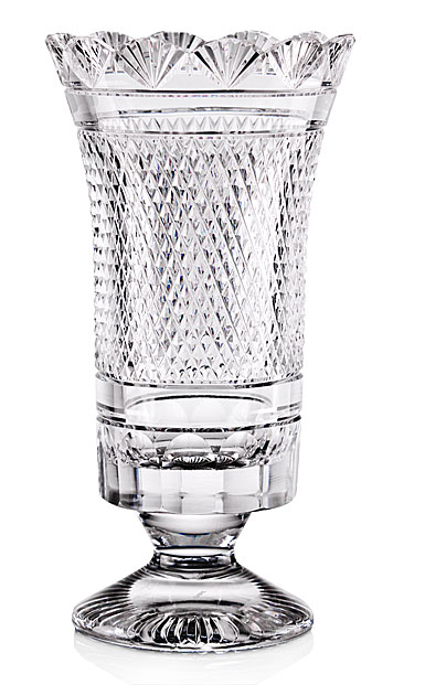 Cashs Crystal Art Collection, Constellation Footed Vase